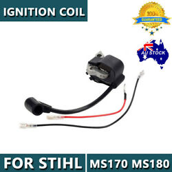 Ignition Coil For Stihl 017 018 Ms170 Ms 180 Chainsaw Power Yard Durable