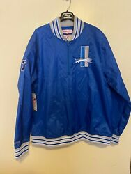 Detroit Lions Mitchell And Ness Nfl Throwback Authentics Jacket Sizes Available 3