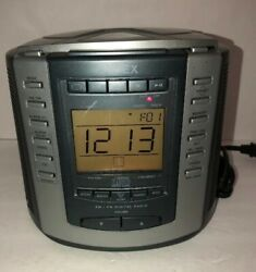 Timex T601g Am/fm Radio Cd Player With Alarm Clock Snooze And Nature Sounds-rare