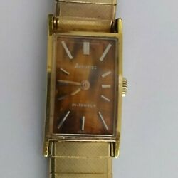 Accurist Bronze Faced Manual Ladies Watch - Working