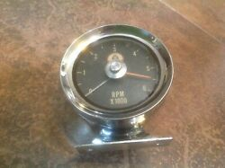 Cobra Tach Tachometer 6000 6 Grand Early Style Emblem Above Pointer