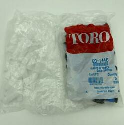 New 25 Pack Toro 89-1446 10-h-pc Nz Sprinkler Nozzles With Screens 10' Half