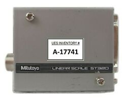 Mitutoyo 09aaa790 Linear Scale St320 Nikon Nsr System Working Spare