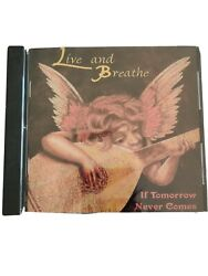 Live And Breathe If Tomorrow Never Comes Cd Zipper Zoom Private Metal