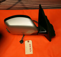 05 Bmw X5 Power Heated Puddle Power Fold Mirror Right Side 2 Plugs Genuine Oem