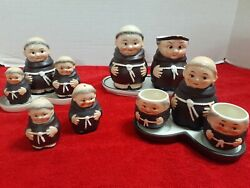 Goebel Monks German Figurines - 13 Pieces Really Nice Pieces Look For Details