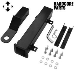 Universal Golf Cart Rear Trailer Hitch - Compatible With Ezgo Club Car Yamaha And