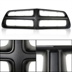 Black Front Grille Shell Trim New For 2011-2014 2012 2013 Dodge Charger