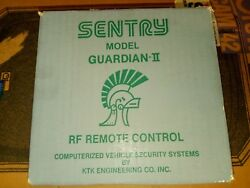 New Sentry Car Alarm Security System Model Guardian 2 | Brand New Sealed