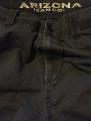 Arizona Jeans Faded/stressed Relaxed Fit Shorts Men's Size 42 Inseam 10 4pocket