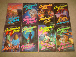 Christopher Pike Book Lot Horror Ya Witch Monster Wicked Heart Whisper Of Death
