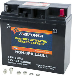 Fire Power Sealed Agm Factory Activated Battery 51913 Fa