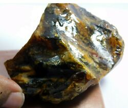 351.15cts. Natural Translucent African Amber Loose Russian Rough Gemstone. Av-90