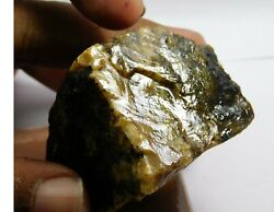199.65cts. Natural Translucent African Amber Loose Russian Rough Gemstone. Av-94