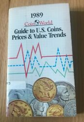 1989 Coin World Guide To Us Coins, Prices, And Value Trends