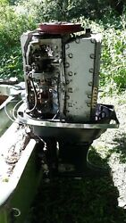 Mercury 1100 Outboard Motor Upper 2/3rds 110hp Powerhead Pickup Only Nw Indiana