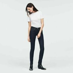 Calvin Klein Women's Mid Rise Skinny Fit Jeans Malivu Blue Rinse Size 29 x 32 $39.99