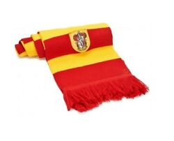 Harry Potter Scarf Gryffindor Yellow And Red Hermione Badge Embroidered 560592