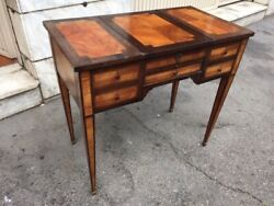 Louis XVI coffee tabledressing table in Rosewood - Restored (in progress)