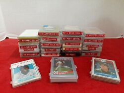 Baseball Card Lot Slurpee Coins And More By Vendors Coca Cola Burger King Post