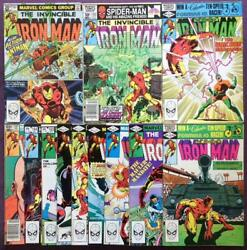 Iron Man 151153 To 159 162 To 164 And 167 Marvel 1981. 12 X Bronze Age Classics