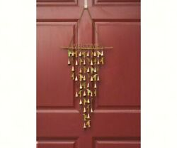 Hummingbird Welcome Shimmering Bells  Wall Decor Out Side Wind Chime  Age1127