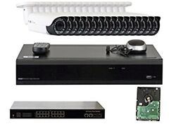 Gw 32 Channel 4k Nvr 16 5mp Ip Poe Outdoor Camera Night Vision Security System