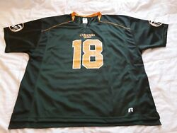 Colorado State Rams Russell Athletics Jersey Mens Size 2xl 18