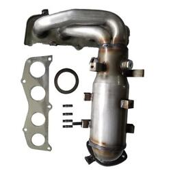 Catalytic Converter Exhaust Manifold W/gasket For 2002-2009 Toyota Camry 2.4l