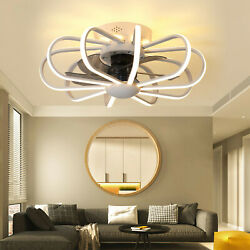 Ceiling Fan With Light Kit Remote Control Led Modern Lamp Warm White Bedroom Us