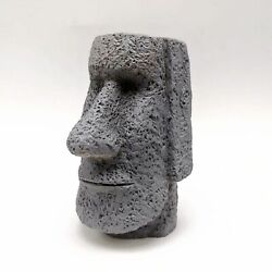 Silicone Easter Island Statue Mold Candle Soap Making Concrete Crafts Mould
