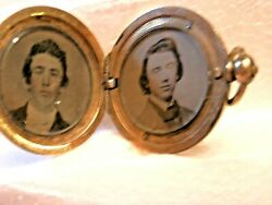 Billy the Kid Mother Catherine McCarty Antrim LOCKET of Henry McCarthy