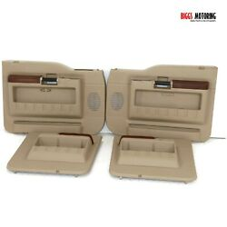 2011-2016 Ford F250 King Ranch Front And Rear Driver Passenger Side Door Panel Set