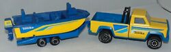 Vintage 1982 Tonka Truck And Boat Trailer Used