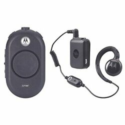 Motorola Solutions Clp1060 Two-way Business Radio With Bluetooth Earpiece