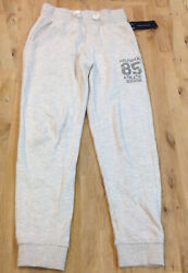 Tommy Hilfiger Boys Cooper Rugby Pants Oat Heather Size 5 $17.99