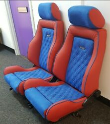 Ford Sierra Sapphire Rs Cosworth Leather Interior Seats 1989