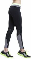 Truity Women's Mesh Soft Breathable Leggings Stretchy Reflective Workout Yoga Pa $31.65