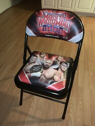 Wwe March To Wrestlemania Roadblock Network Special March 2016 Collectors Chair