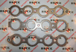 1936-1952 Buick Intake And Exhaust Manifold Gasket Set. 320 Engines