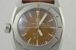 Vintage Vdb Automatic Men's Watch 1 13/16in Very Rare Anniversary 5 Years