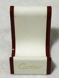 Cartier Display Presentation Dealer Wallet Coin Purse Stand Holder Authentic