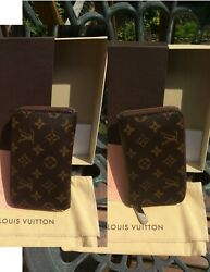 Authentic Louis Vuitton Compact Zippy Wallet Book Style & Musette Salsa Bag