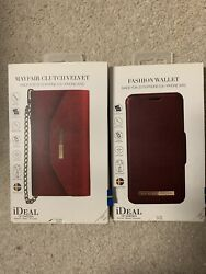 NIB ideal of sweden Fits Iphone 58 orX XS Clutch Wallet Phone Case $29.99