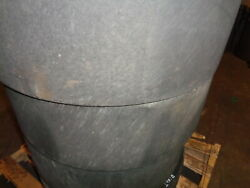 4 Used Summit Solid Smooth Skid Steer Tires -10x16.5-with Rims   Free Shipping