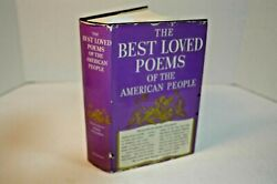 The Best Loved Poems Of The American People By Hazel Felleman. Book Club 1936