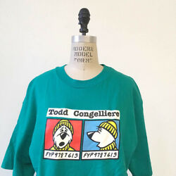 ⭕ 90s Vintage Todd Congelliere Shirt Liberty Fyp Skate Supreme Zorlac Punk 80s
