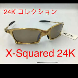AUTH Oakley Sunglasses X-Squared 24K Scarcity Value _1631