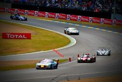 Motor Racing Action 24 Hours Of Le Mans 2015 Motorsport Photograph Picture