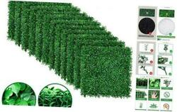 Amagabeli 4 Layers Leaves Artificial Boxwood Panels Topiary Hedge Plant UV Prote